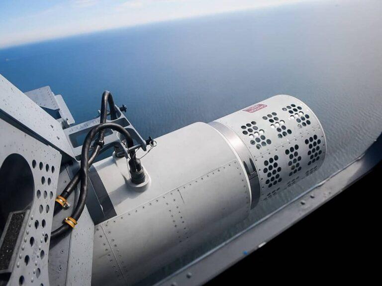 U.S. Navy uses modern airborne laser mine detection system during BALTOPS 2019