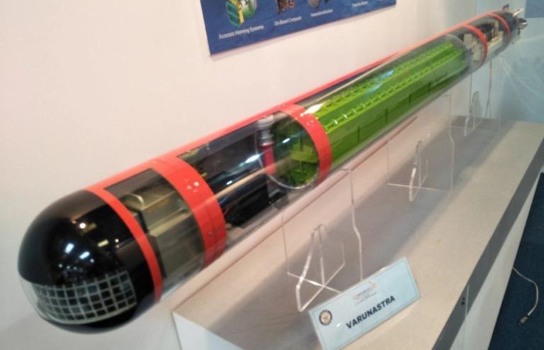 Indian Navy To Induct Indigenous Heavyweight Torpedo Varunastra