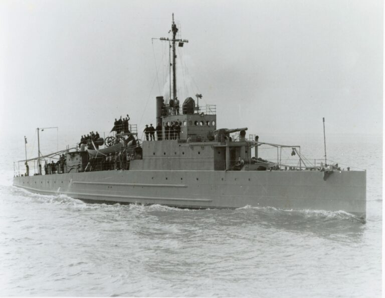 USS Eagle Found After 75 Years of her Sinking