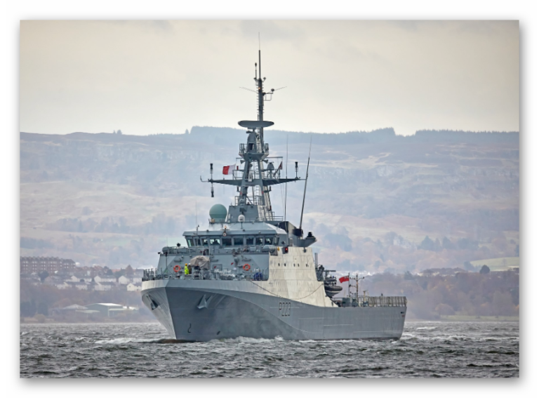 HMS MEDWAY will be the newest member of the Royal Navy