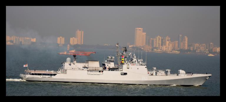 Indian Frigate INS TARKASH's visit to Alexandria