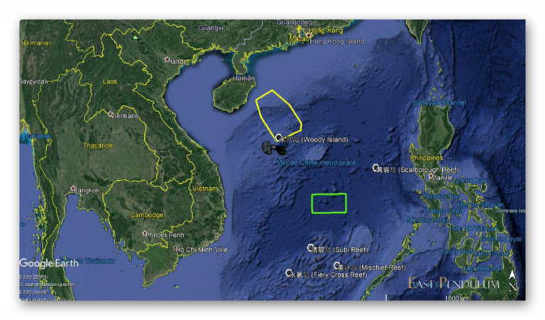 China fired Anti-Ship Missiles at the disputed area