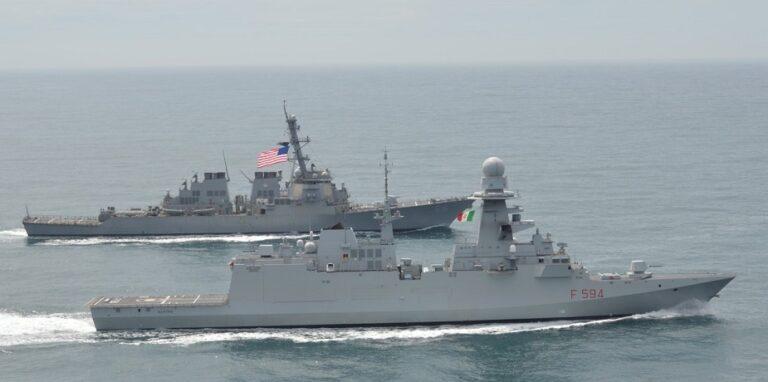 Italian FREMM Class Frigates  Attracts U.S. Navy for FFG(X) Programme