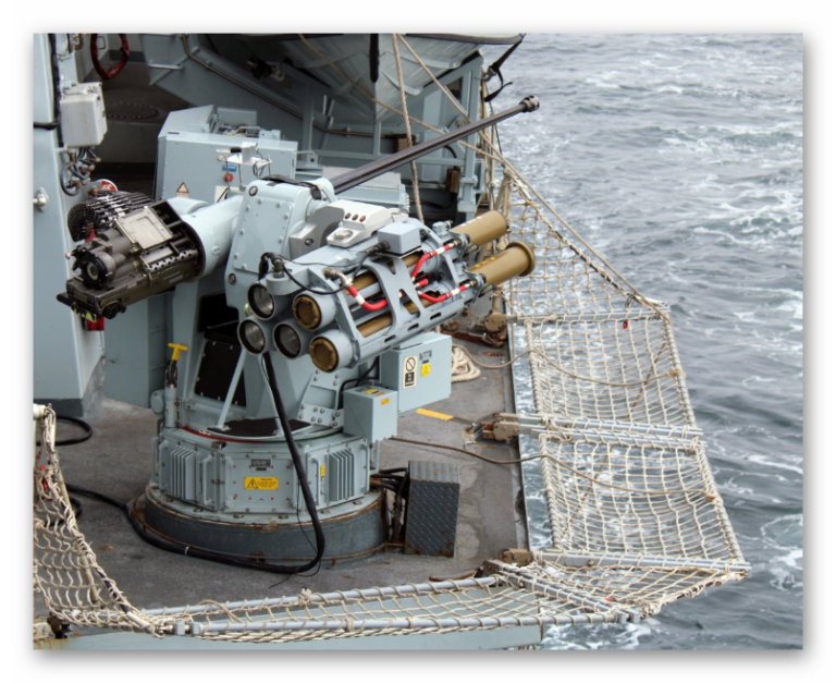 Royal Navy Tested Lightweight Multirole Missile from HMS Sutherland