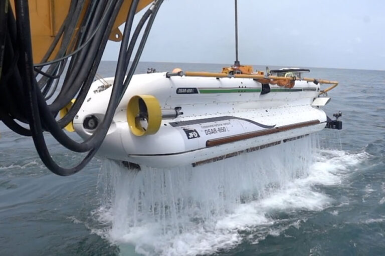JFD successfully completes sea trials for the first DSRV for the Indian Navy
