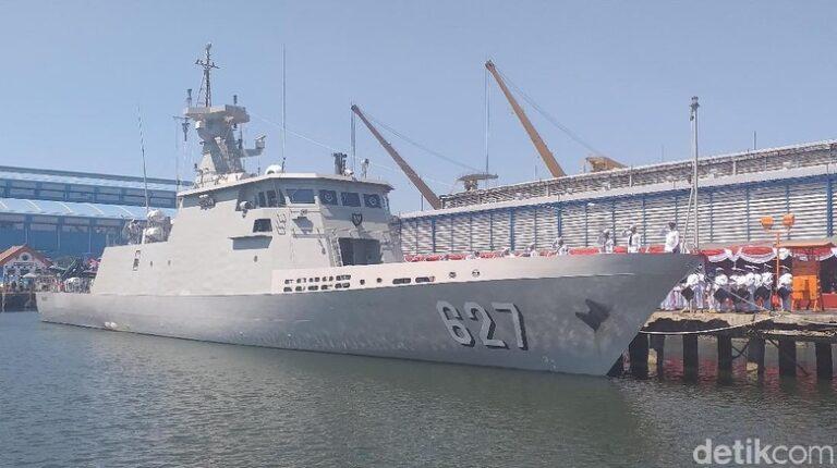 Indonesian Navy Recieves 4th KCR-60M Class FAC