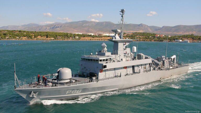 Hellenic Navy's 6th Super Vita Class FAC on Sea Trials