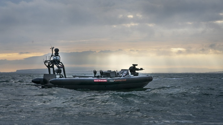 BAE Systems Presented New Unmanned Boat