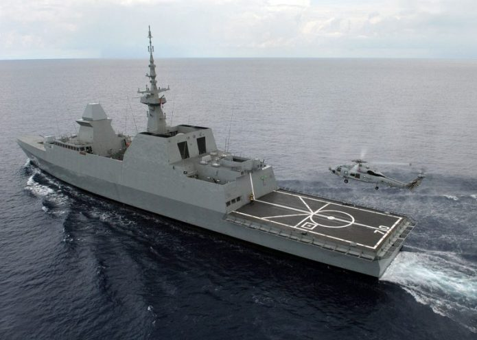 Indonesia and Singapore Navies Conduct Eagle Indopura Joint Exercise