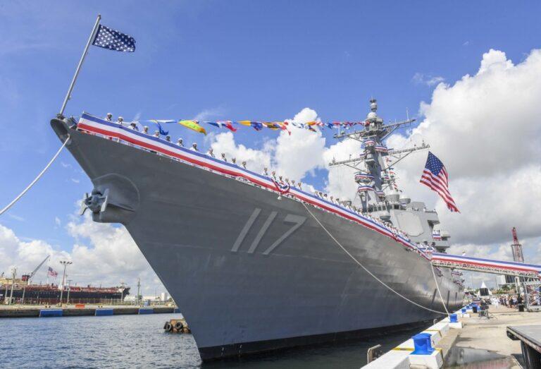 U.S. Navy Comissioned New Destroyer; USS Paul Ignatius