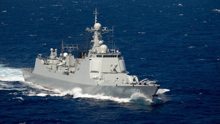 Chinese Destroyer Xi'an to Make Unofficial Visit to Russia
