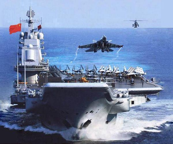 PLA Navy's Liaoning Aircraft Carrier