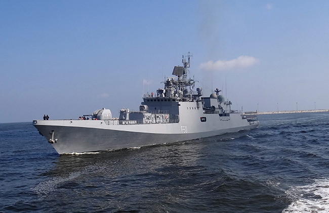 Bilateral Sea Drills of Egyptian and Indian Navies