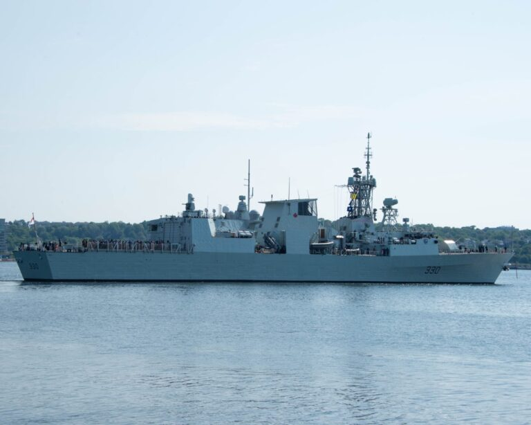 HMCS Halifax departs for SNMG-2 deployment
