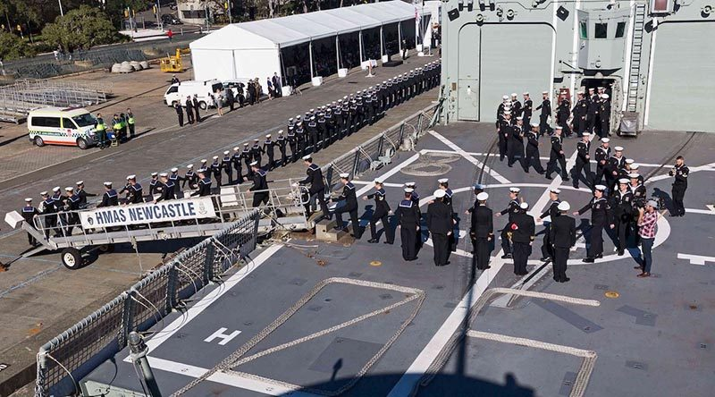 hmas newcastle decommissioning - naval post- naval news and information