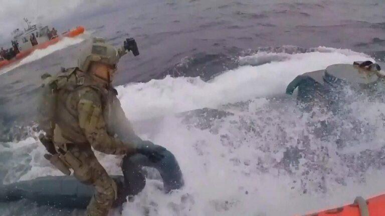 U.S. Coast Guard Seized Narco Submarine