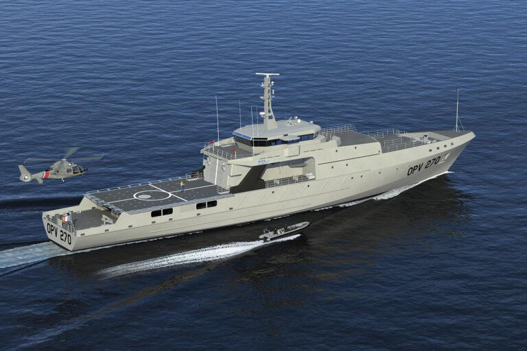 World's Largest Aluminium OPV is Ready for Philipinnes Coast Guard