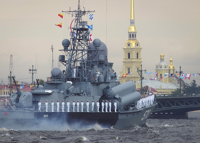 Show of Strength: Russian  Navy Day 2019