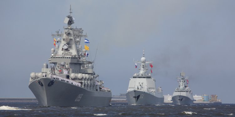 Russian Naval Parade will Contain More Than 40 Warships