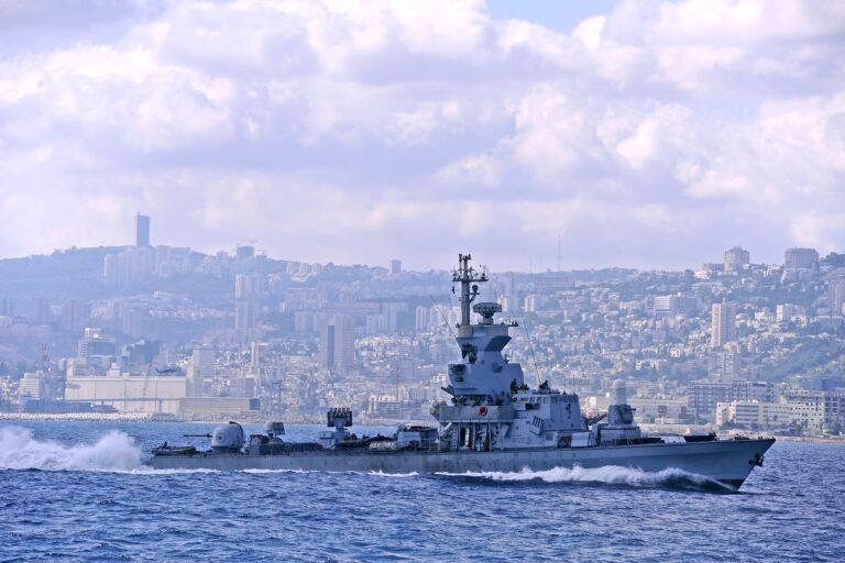 Israeli Warship Crossed Into Lebanese Waters