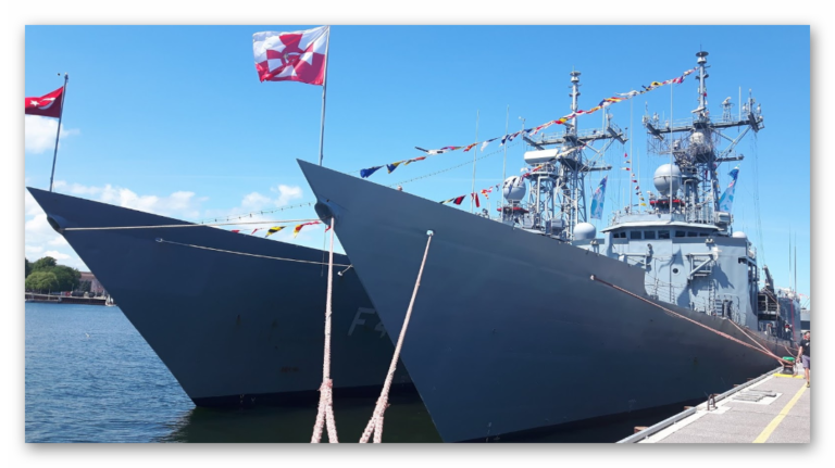 Differences Between Two  O.H.Perry Class Frigates