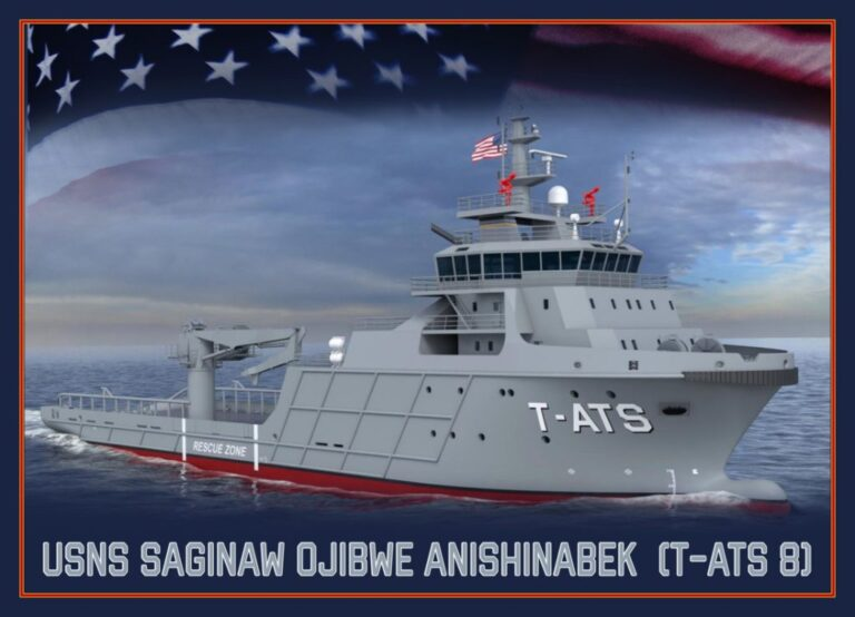 U.S. Navy Names Newest Towing & Rescue Ship