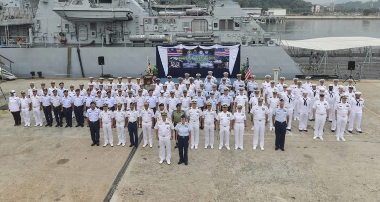 U.S. and Malaysia Commenced Maritime Drills