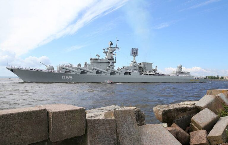 Russian missile cruiser wraps up call at Algerian port in long-distance deployment