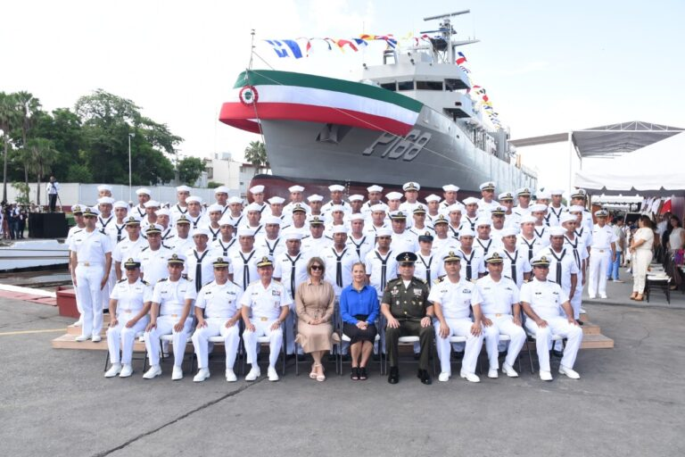 Mexico Launched 8th Oaxaca Class OPV