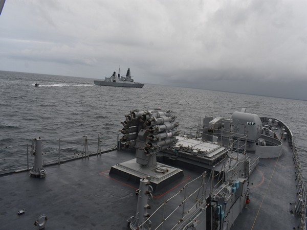 UK and Indian Navies Hold KONKAN Bilateral Exercise