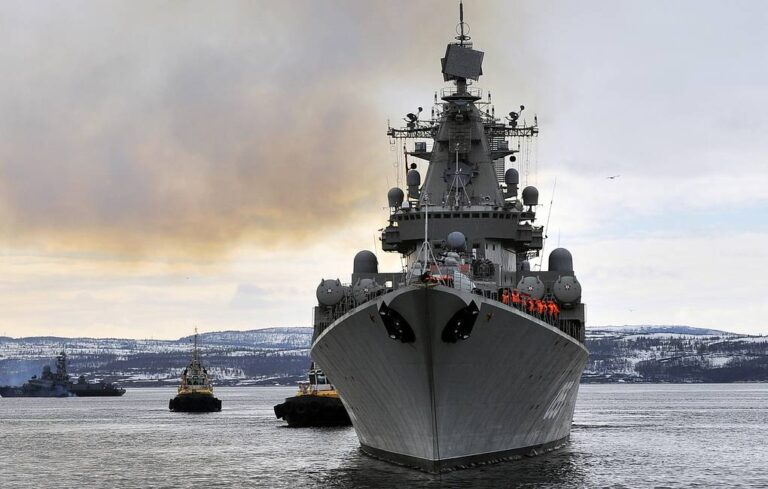Russian Naval Group Entered Mediterranean as a part of its Deployment Policy