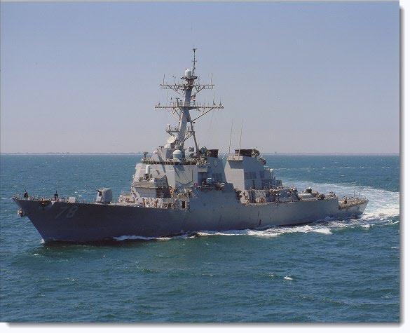 USS PORTER is Underway to Black Sea