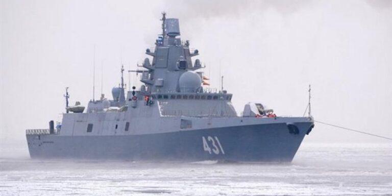 Russia's Newest Frigate Begins Shipbuilder's Final  Trials