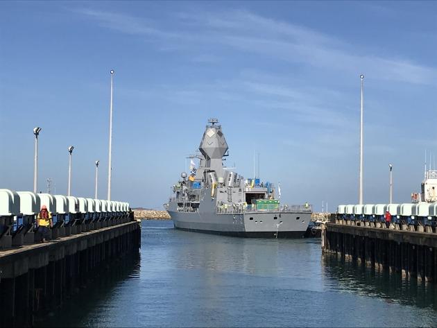 HMAS Arunta of Australian Navy Begins SATs After AMCAP Upgrades