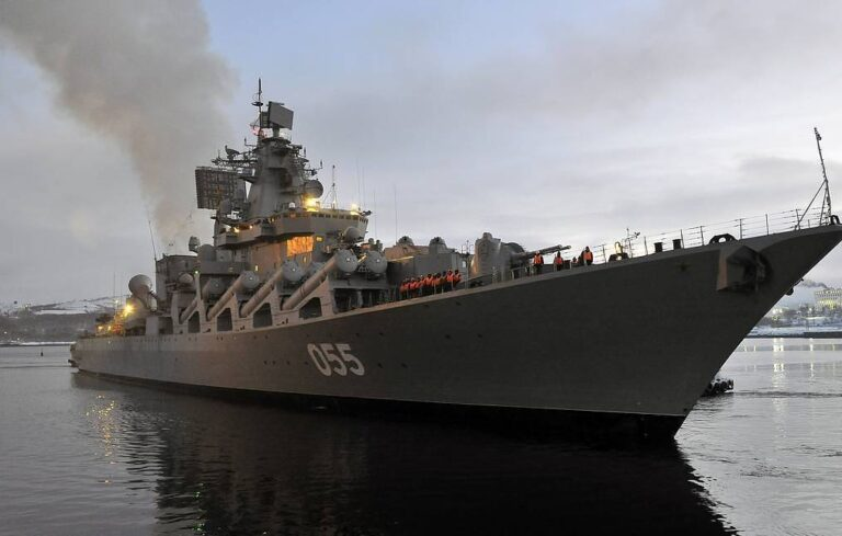 Russian Cruiser Marshal Ustinov Visits Algeria