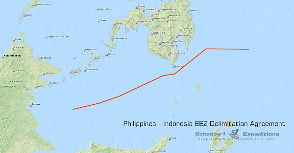 EEZ Treaty Between Philippinnes and Indonesia Officially Come in Force