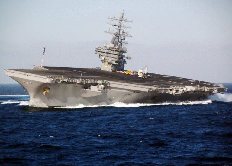 USS Ronald Reagan Visits Manila of Philippines