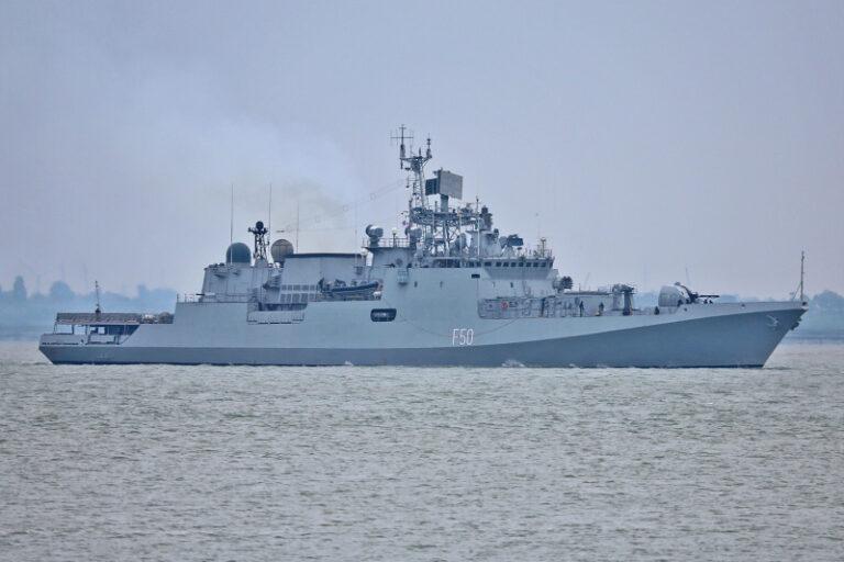 Indian Frigate Tarkash Keeps Visiting African Ports