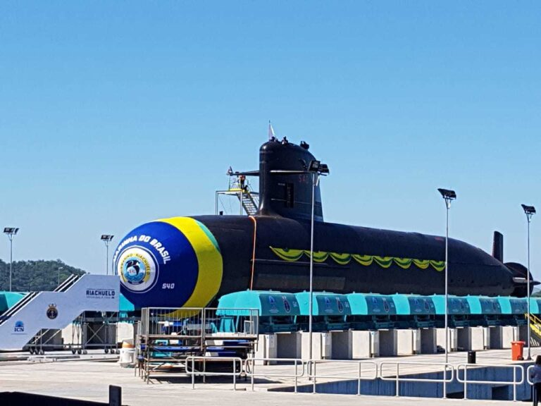 New Submarine of Brazilian Navy Sets for Sea Trials