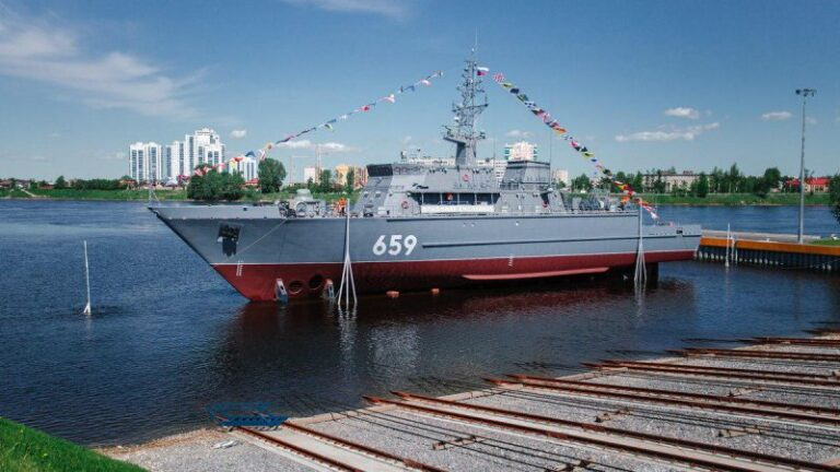 Russia's New Mine Sweeper Begins Shipbuilders' Sea Trials