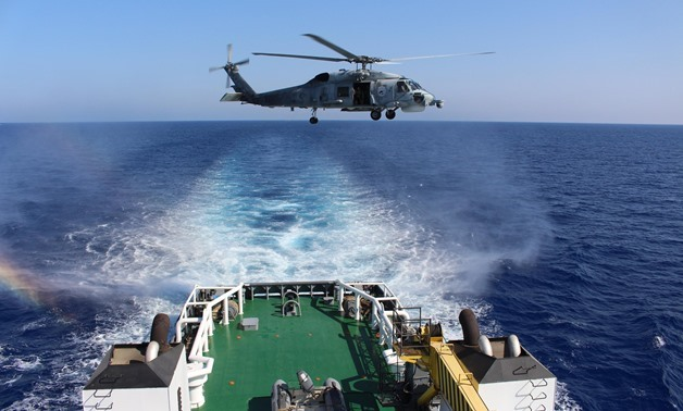 Egyptian and French Navies Conducted Bilateral Drills at Mediterranean