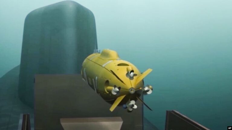 Russian Underwater Drone Carrier to Begin Sea Trials by 2020