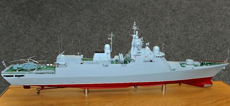Ukraine to Resume Building Project 58250 Class Corvette Project