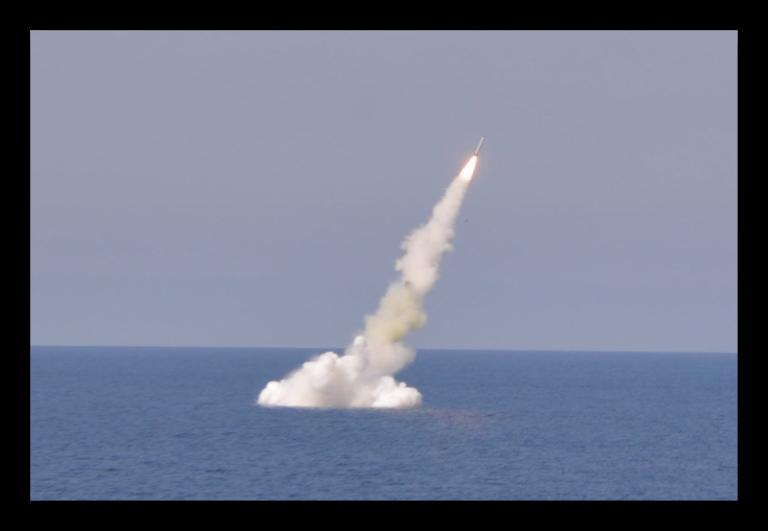 Algerian Kilo Class Submarine Conducts Kalibr Missile Firing