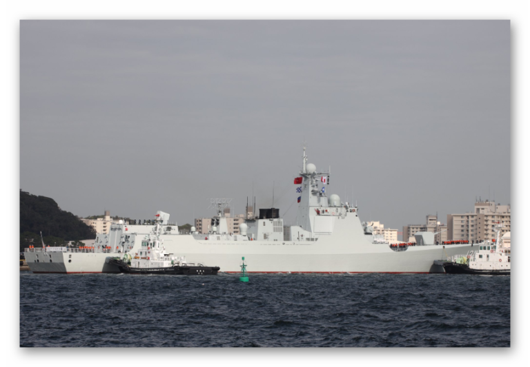 Chinese Type 052D Class Destroyer to Visit Japan