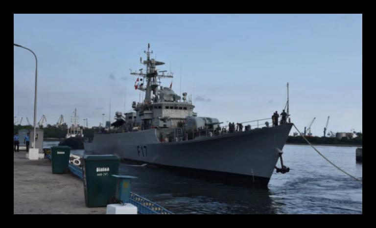 Bangladesh Warships Arrived India for Naval Drills