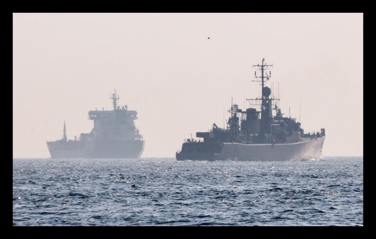 Operation Sea Guardian Assets Visit Turkish Naval Base