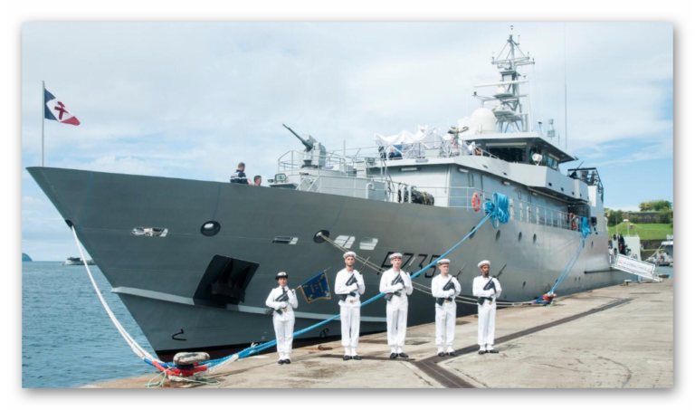 Third La Confiance-class OPV entered service for French Navy
