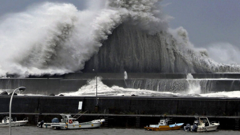 Japan Had to Cancel the Maritime Review After Typhoon
