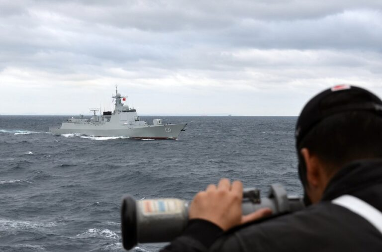 Japan and China conducted naval drills after 8 years